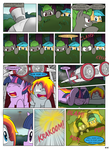 MLP FIM STARS Chapter-4 Stickers Page-44 by MultiTAZker
