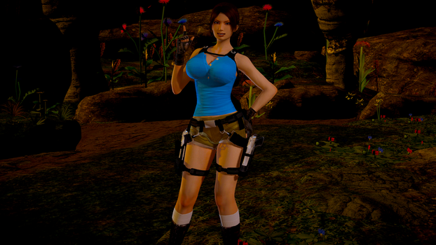Lara Croft Classic Anniversary 11 by AllissonRR