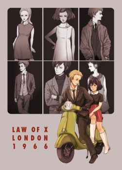 LOX: 1960s London by b-snippet