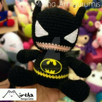Amigurumi Batman by MirthaAmigurumis