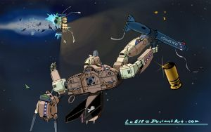 ROBOTECH: Valkyrie Recovery by LeElf
