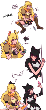 Beauty and The Beast || Bumbleby by Kanada17