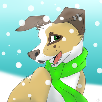 Winter icon -watch me draw- by Sirenet