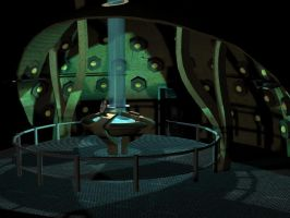 Doctor Who : TARDIS 3D by Estel