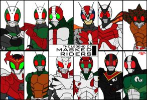 The Legend of Masked Riders Begins by TakarinaTLD93