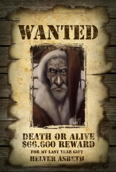 wanted by HelverAsbeth