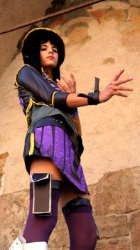 Robin-Unlimited Cruise cosplay by Azu92