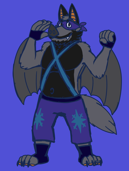 FrostBat Ready for Action by JomoOval