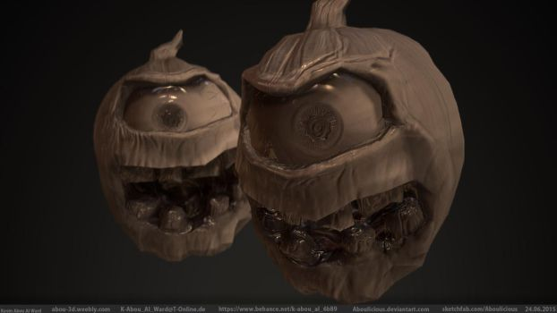 Pumpkin Monster (Normal Detail) by Aboulicious