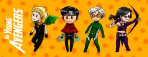 young avengers by carliscrazy