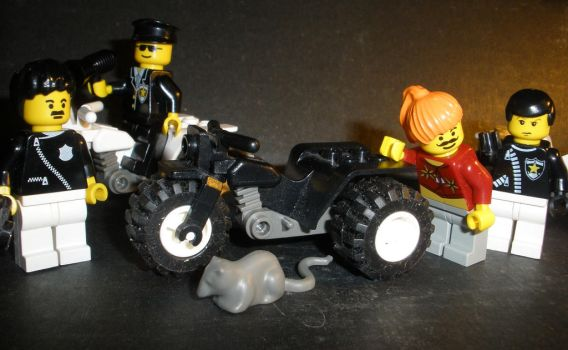 Cleaning My Room: Lego Shoot by Exclarmation