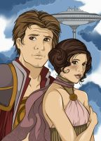 Star Wars - City in the clouds by nyvaine