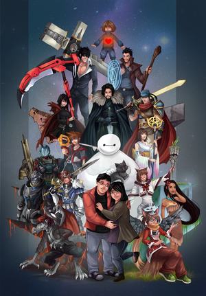 Group Poster by Gotetho