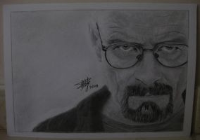 Heisenberg -Walter White by Cola-Addicted