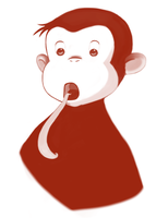 Curious George by RavenousFire