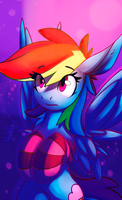 Dashie BS by 1deathPony1