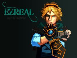 League Of Legends: Ezreal by ArtisticEnvy