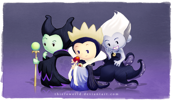 Disney Villains 1 by Thiefoworld