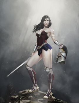 Wonder Woman by PemaMendez