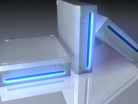 Nintendo Wii by bazzy17