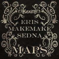 KD#2 Eris, Makemake and Sedna's maps by Kexitt