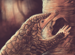 Pangolin by animalartist16