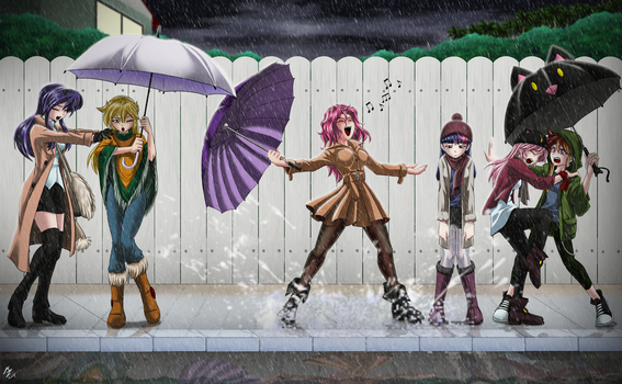 FM: Singing in the rain by mauroz
