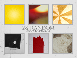 28 random icon textures by Kiho-chan