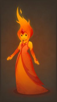 Flame Princess by GooBone