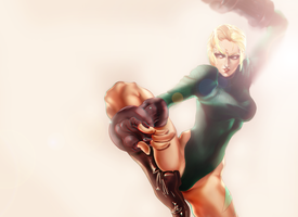 Street fighter Cammy by The-dolphins-cry