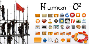 Human-O2 - Iconset by schollidesign