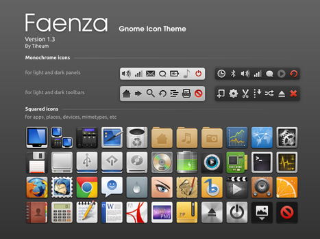 Faenza Icons by tiheum