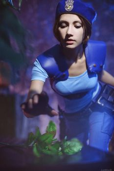Jill Valentine: Take the Green Herb by Narga-Lifestream