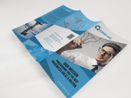Corporate Tri-fold Brochure by naeem1200