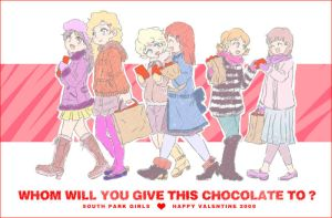 SP : Girls in Valentine 2008 by karaage98