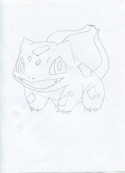 Bulbasaur, the Seed Pokemon by Scarecrow606