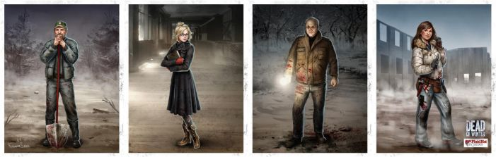 Dead of Winter Characters 01 by fdasuarez