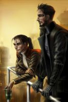 Pritchard and Jensen in Hengsha by MirrorWalledCubicle