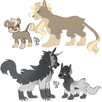Pokemon: Cats and Dogs