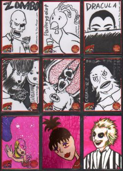 Sketch Cards 2 by Andy-Korty