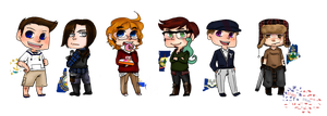 New England Chibis by Alexander-Rowe