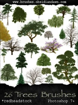 GIMP Trees Brushes by Project-GimpBC