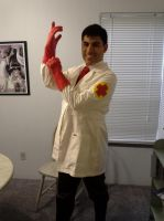 RED Medic Cosplay by Scunosi