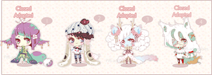 [CLOSED] ADOPT 06 - Little Adopt Set by Piffi-sisters