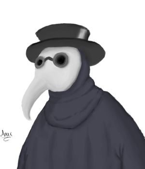 Plague Doctor by Anax253