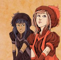 Renaissance Girls Color by Corny63