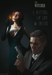 The Witcher - Noir - A matter of life and death by MilliganVick