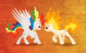 Greatest Fight On Equestria by MajorCooke
