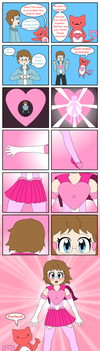 Secret Santa - Magical Girl HoleInTheHeart by scarlet-nekomata
