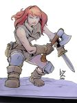 Daily Sketch Red Sonja Teen by Savedra